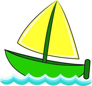 Cartoon Boats Images | Free Sailboat Cli-cartoon boats images | Free Sailboat Clip Art Image - Cute Little Sailboat  on Waves of-8