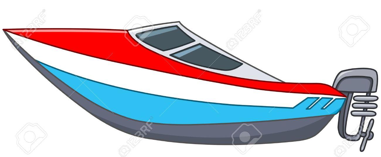 Cartoon Motor Boat-Cartoon motor boat-9
