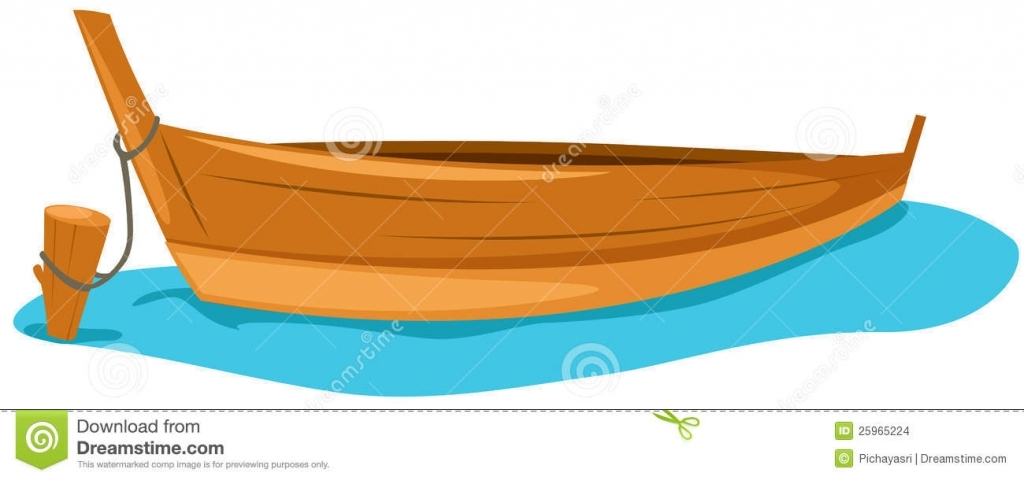 Fishing Boat Clipart Wood Boat Pencil And In Color Fishing Boat Regarding  Wood Boat Art