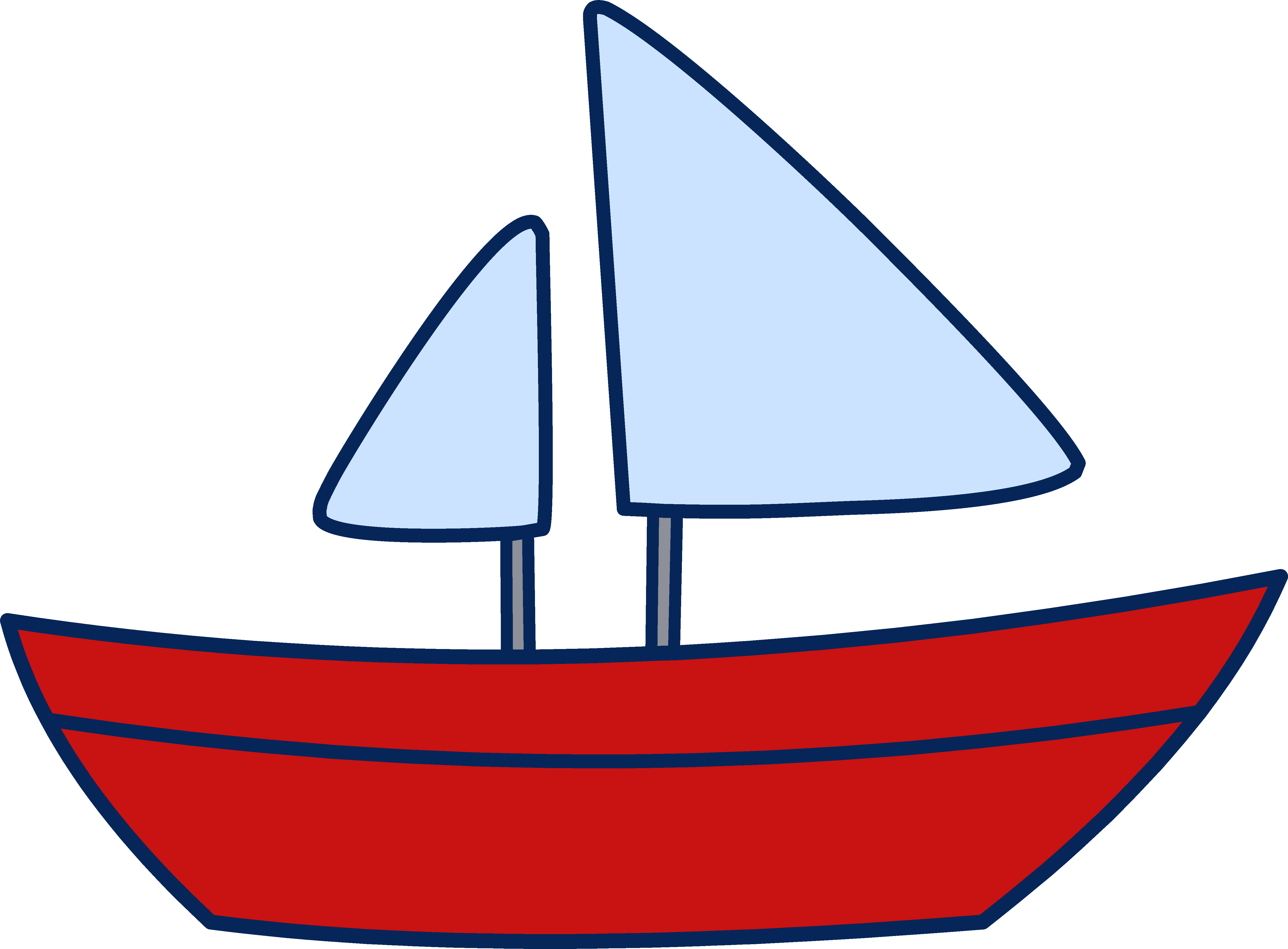 Boat Clipart Sail - Clipart Boat
