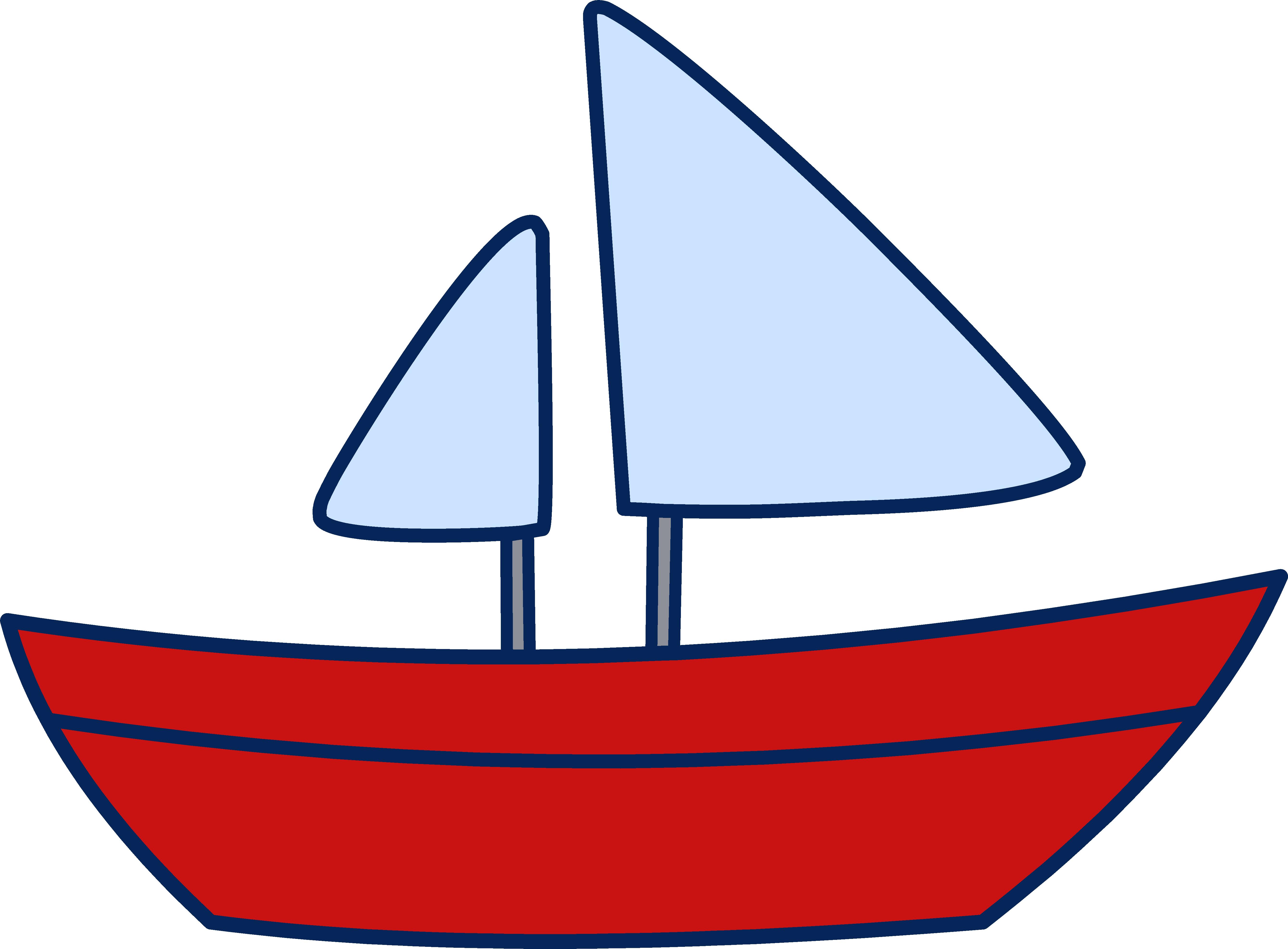 Boat Clipart Sail-Boat Clipart Sail-2