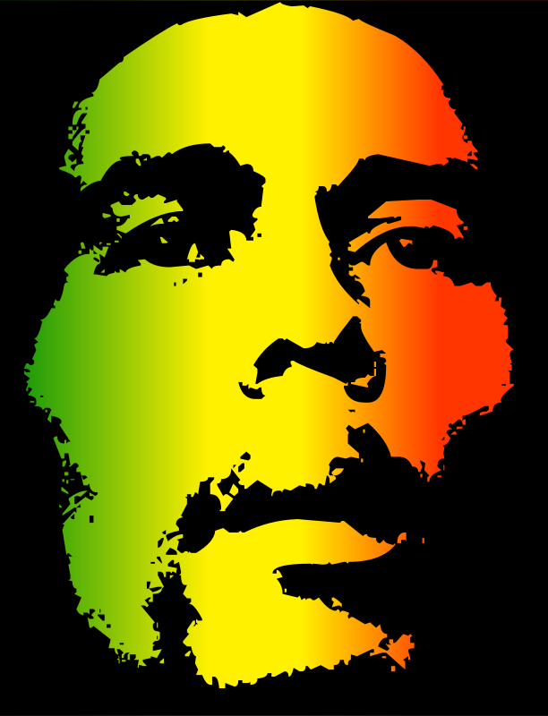 Bob Marley Clipart