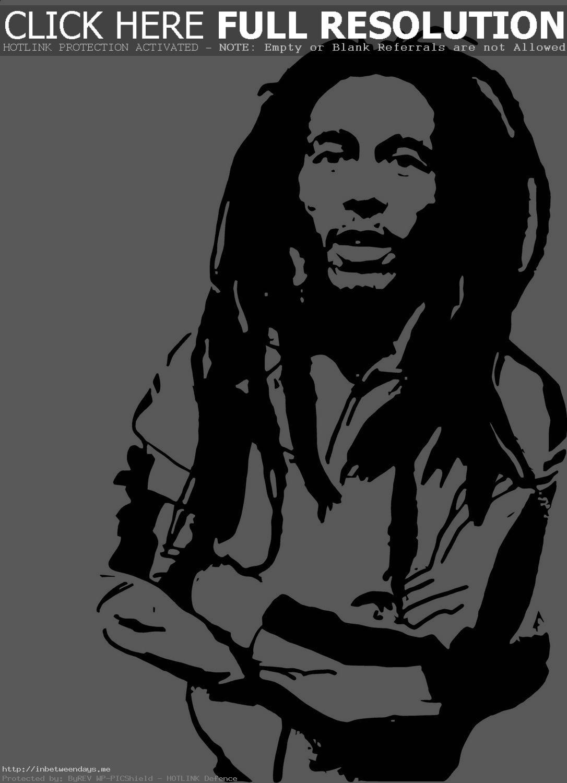 Bob Marley Version 2 Vinyl Wall Art Deca-Bob Marley Version 2 Vinyl Wall Art Decal Pinterest Tearing-15