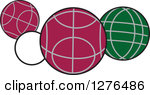 Bocce Ball Clipart #1