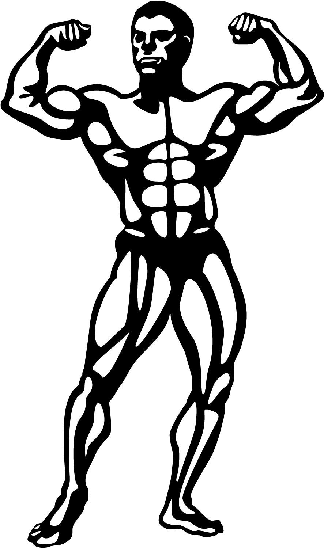 Body Building Clip Art Clipart Best