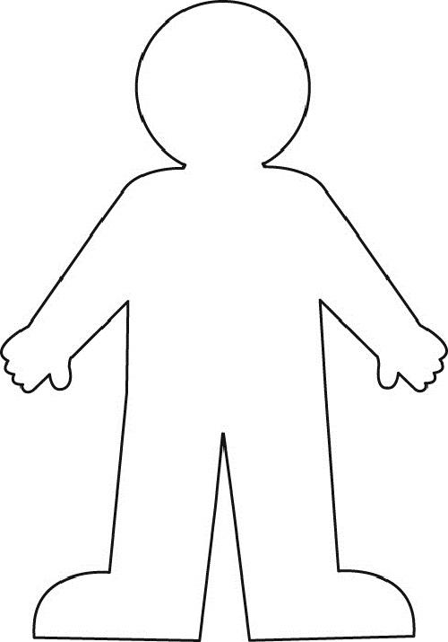 Body Outline Picture-Body Outline Picture-5