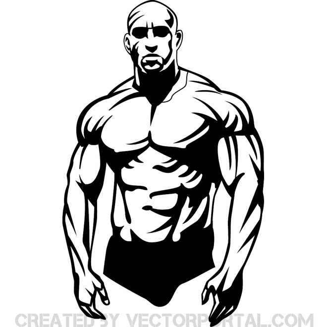 Bodybuilder Vector Clip Art Download At -Bodybuilder Vector Clip Art Download At Vectorportal-11
