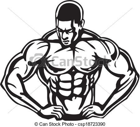 Bodybuilding Clipart