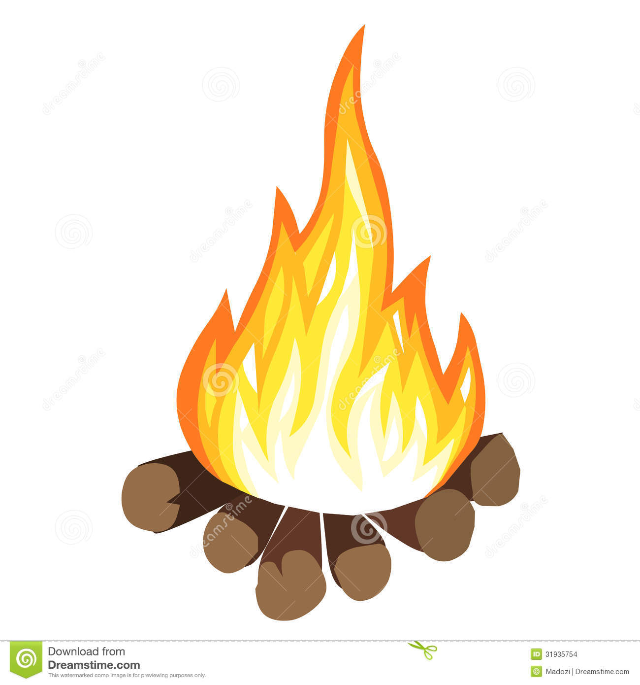 Bonfire Cartoon Clipart Panda Free Clipart Images
