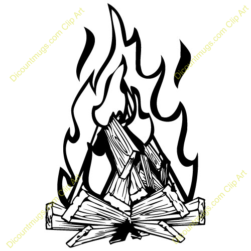 Bonfire Clipart - Clipart Kid