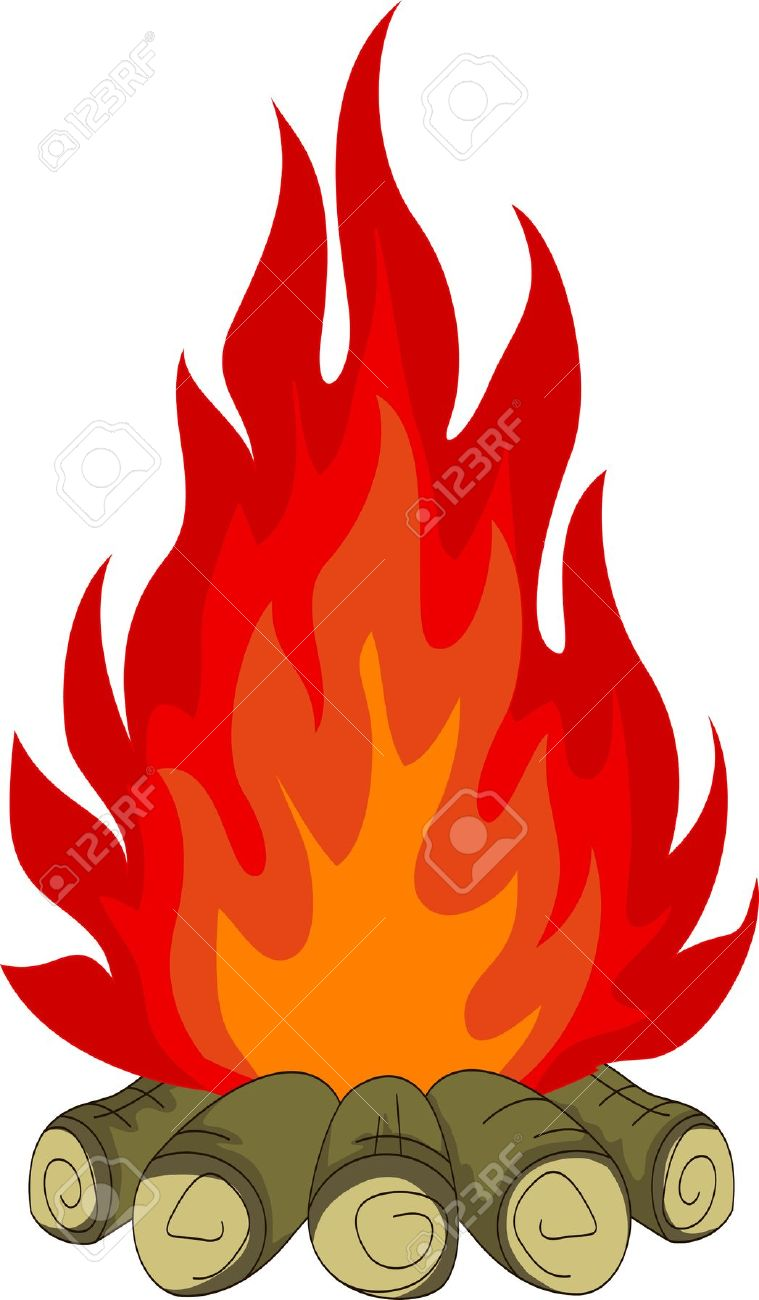 bonfire Stock Vector - 17840627