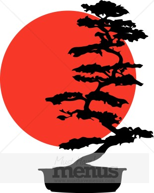 Bonsai Clipart - Japan Clipart