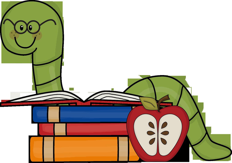 book worm clip art-book worm clip art-2