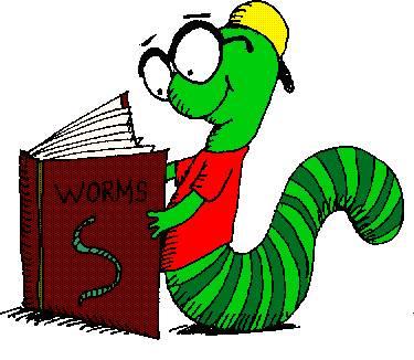 book worm clip art-book worm clip art-4
