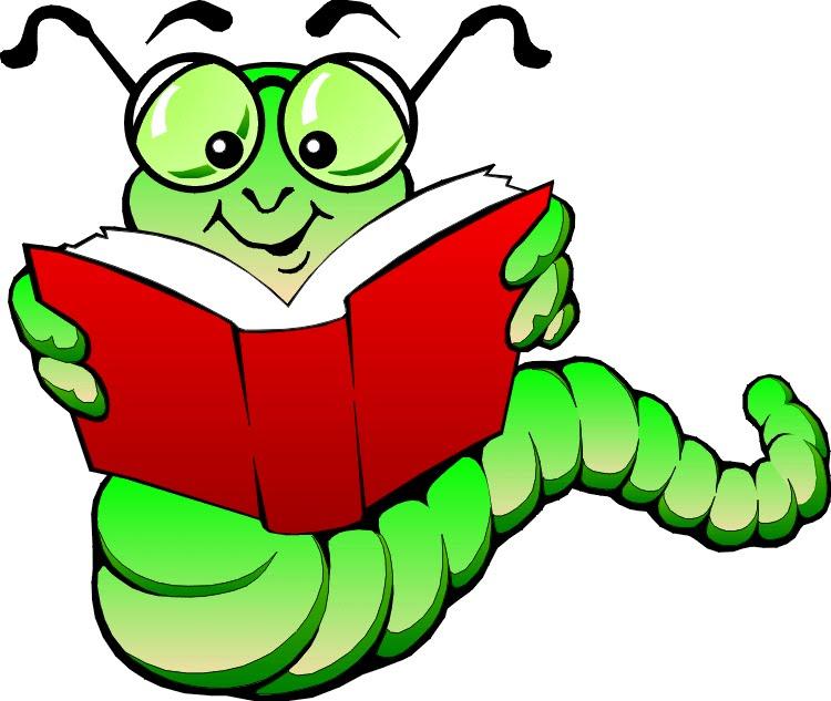 book worm clip art-book worm clip art-0