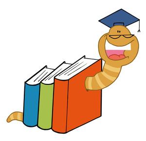 Bookworm Clipart
