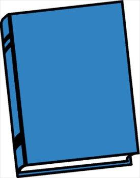 book-blue - Book Clipart