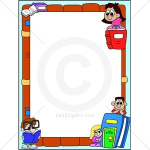 Book Border Clip Art | CoolClipArt clipartall.com - Clip art for: Borders Read Reading
