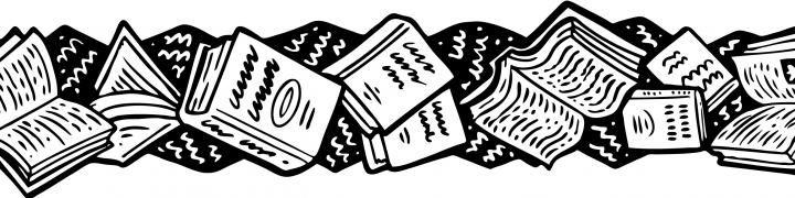 book-border-clip-art.jpg (720×180) | tattoo
