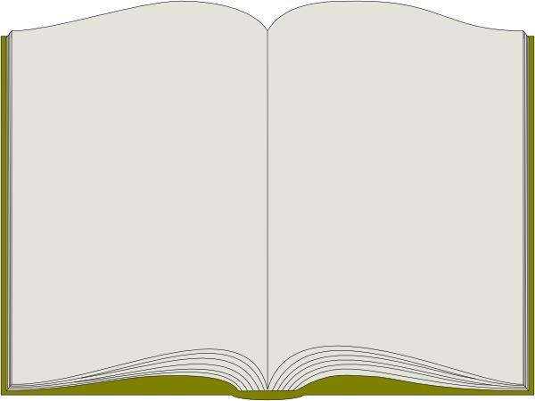 Book Border Clip Art | Open Book clip art - vector clip art online, royalty free u0026amp; public ... | Invitations | Pinterest | Open book, Art online and Public