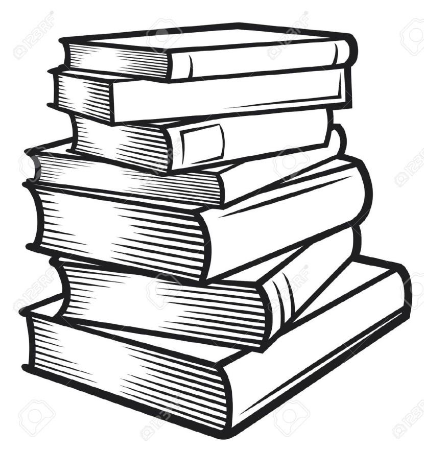 Book Clip Art Black And White Desktop Wa-Book Clip Art Black And White Desktop Wallpapers-5