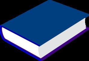Blue Book Clip Art