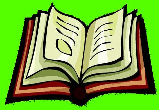 Book clipart: nice open book  - Book Clipart