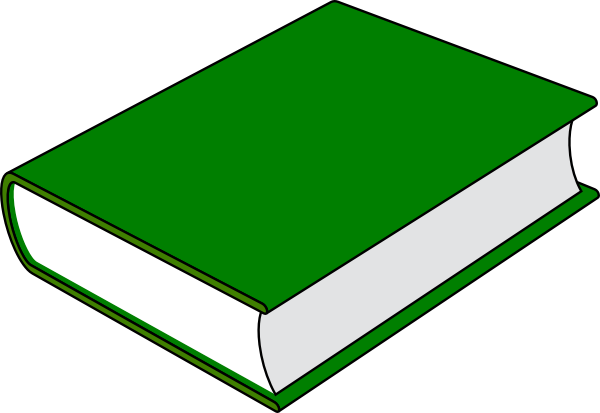Word Book Clipart #1