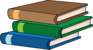 Textbook Clipart Image: Textbooks in a S-Textbook Clipart Image: Textbooks in a Stack-11