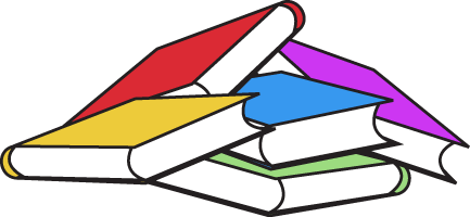 Book Pile - School Books Clipart