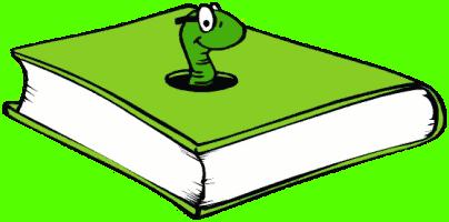 Book Worm Clip Art Clipart Panda Free Clipart Images