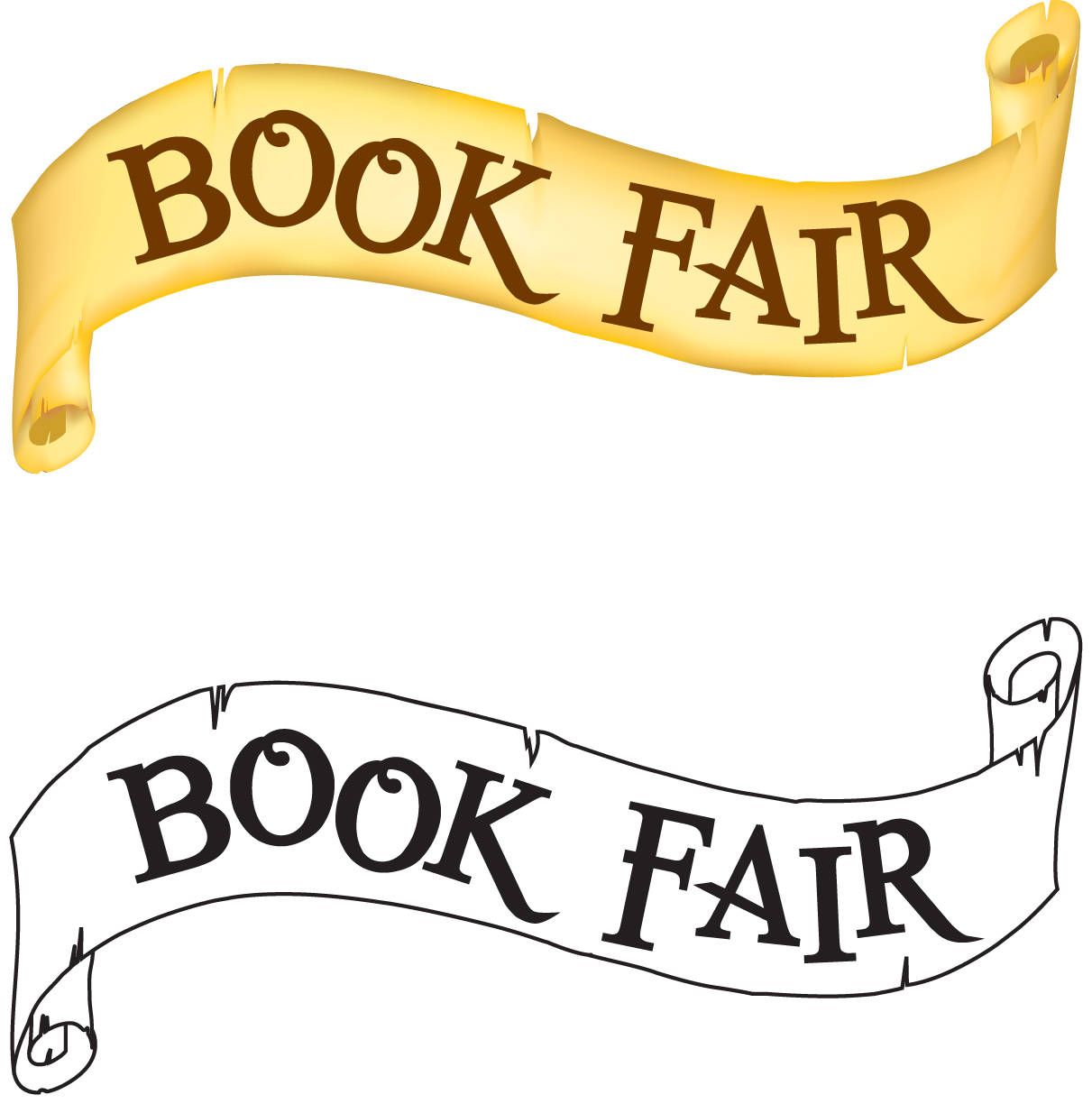 Bookaneer Book Fair Clip Art (1st Fair O-Bookaneer Book Fair Clip Art (1st Fair of the School Year)-10