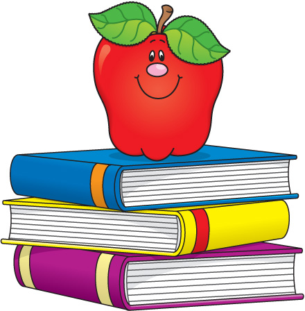 Books For Clip Art u0026middo - School Books Clipart