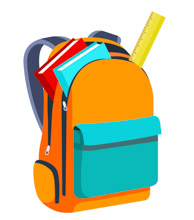Books And Scale Inside Open Bagpack Back-Books And Scale Inside Open Bagpack Back To School Clipart Size: 80 Kb-9