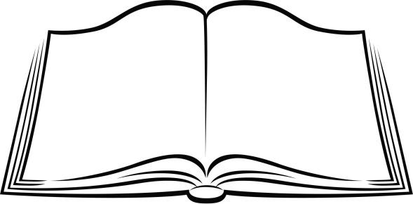 Books book clipart black and white-Books book clipart black and white-9