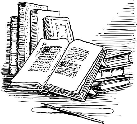 Books free open book clipart .