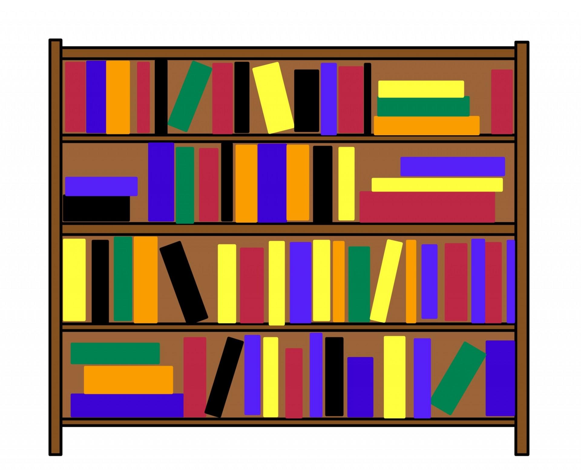 Bookshelf Clip Art Free Stock Photo-Bookshelf Clip Art Free Stock Photo-8