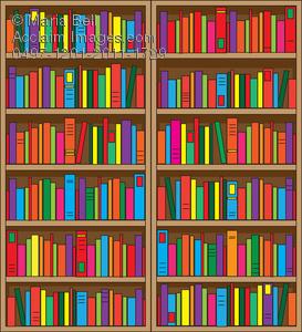 Bookshelf Clipart Image-Bookshelf Clipart Image-10