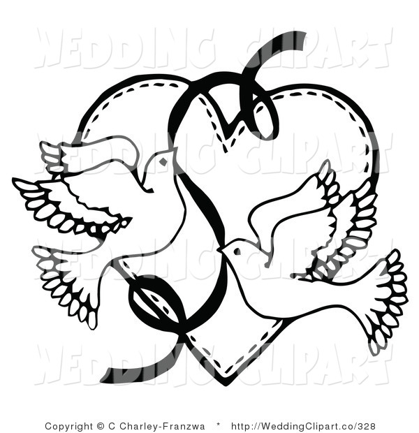 bookworm clipart black and wh - Free Clipart Wedding