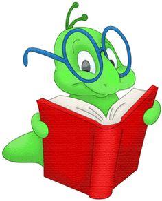 Bookworm Clipart .-Bookworm Clipart .-10