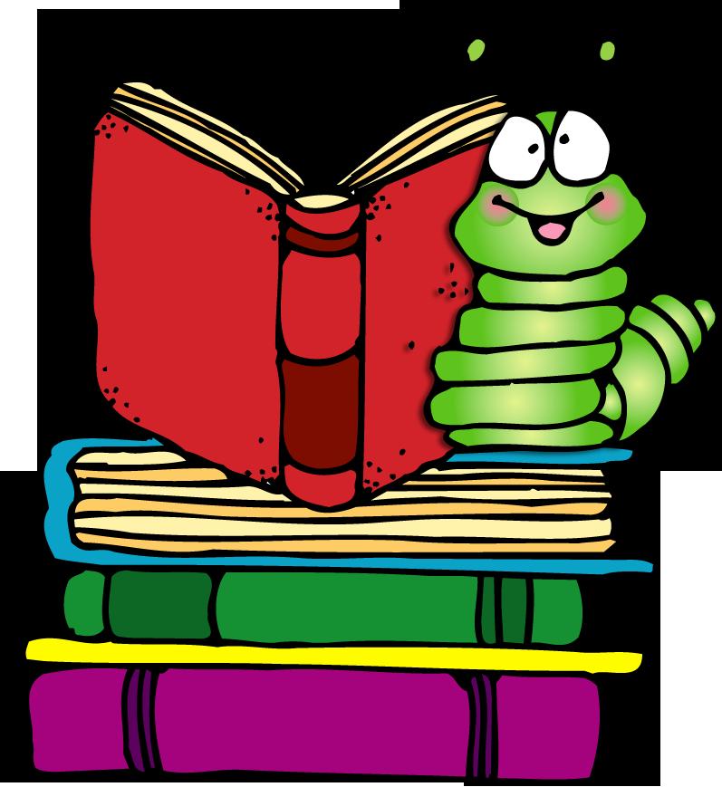 Bookworm Clipart-Bookworm Clipart-7