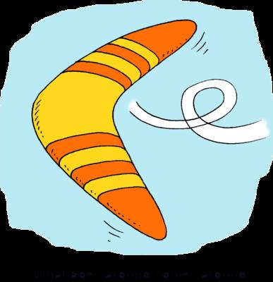 Boomerang Clipart #111