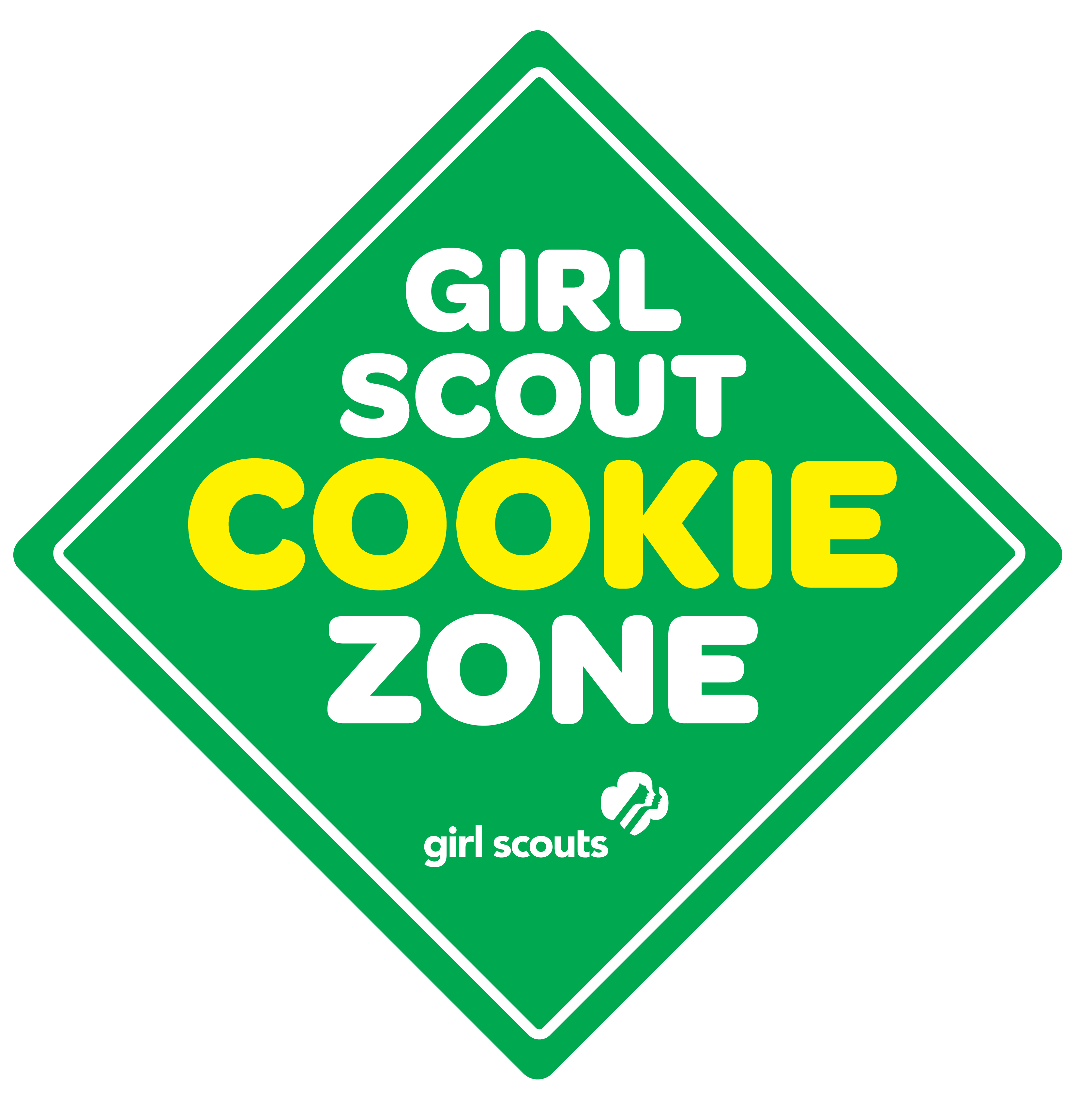 Booth Sale Gs Cookie Girl Scout Cookie Booth Sign Girls Scout