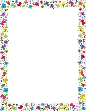 Border Clip Art Microsoft - Border Clipart For Word