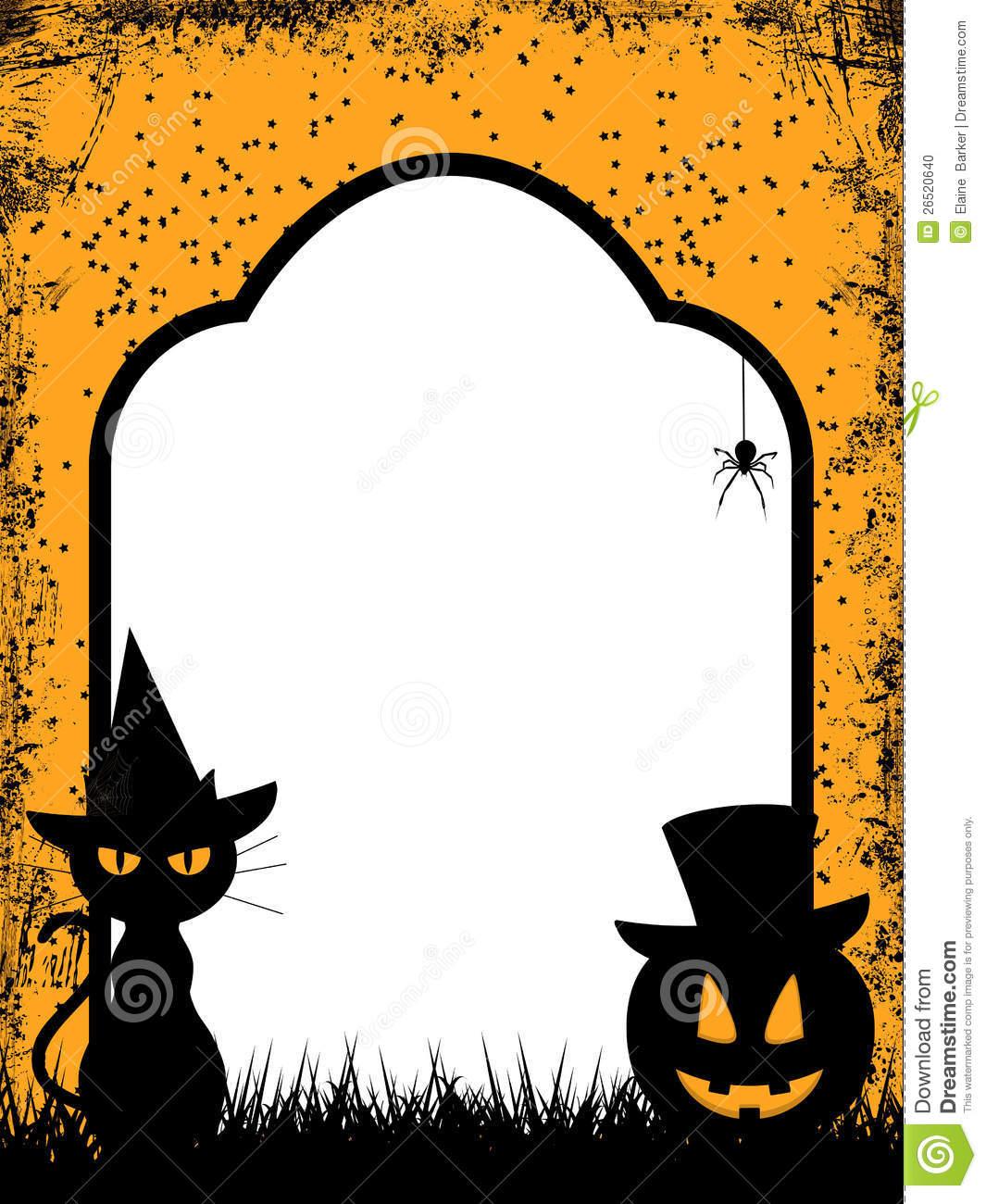Border Clipart Halloween Bord - Free Halloween Clip Art Borders