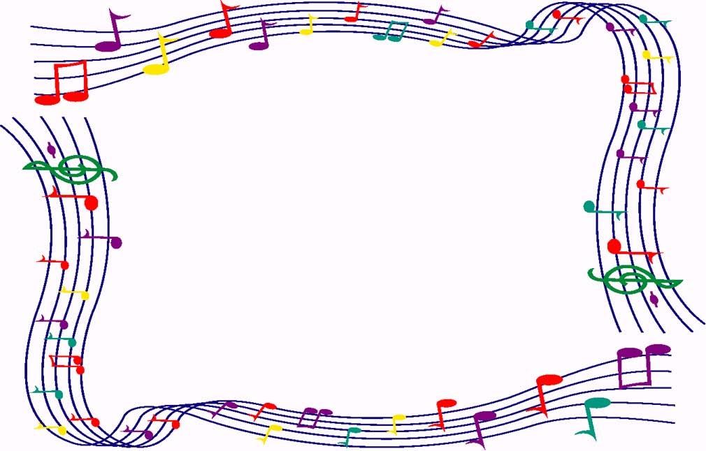 Border Clipart Music Border .