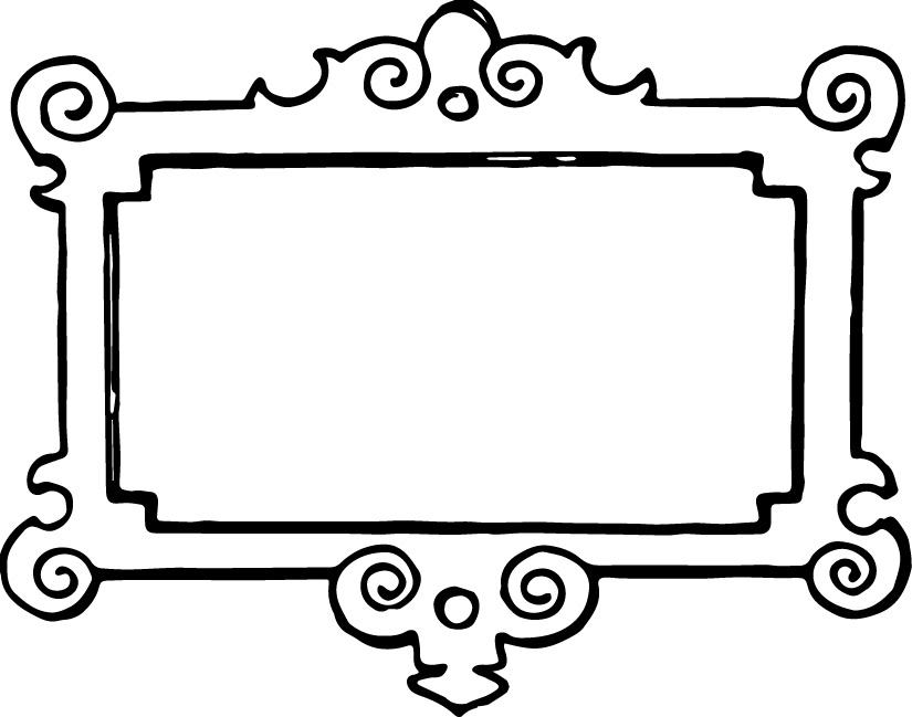 Border free frame clip art teaching clip art free frames clipartall - Clipartix