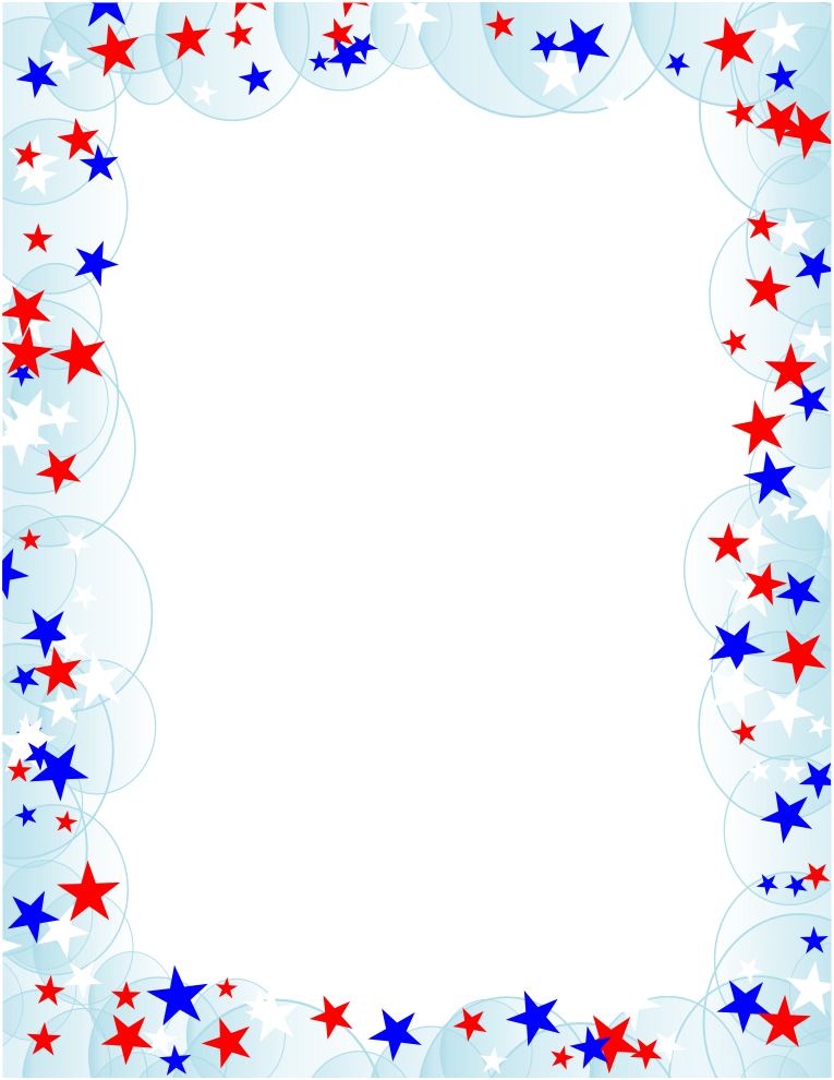 ... borders america clipart; Stars Stripes Stationery Letterhead; It is versatile because it can be used for both election and political themed pages yet ...