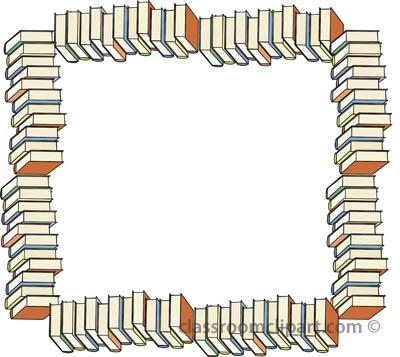 Borders Book Border Classroom Clipart