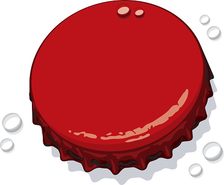 ... Bottle cap clip art ...